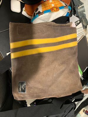 Leather J.FOLD messenger bag, New York product. for Sale in San Diego, CA