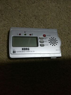 Korg guitar bass tuner for Sale in Long Beach, CA