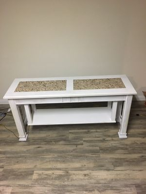 Kitchen table w/chairs, sofa table and coffee table for Sale in Katy, TX