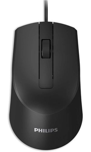 PHILIPS USB Wired Optical Mouse High-Performance 3-Button Optical LED Sensor Ergonomic Palm-Grip with Cord for PC/Computer/Laptop Home or Office Use for Sale in Garden Grove, CA