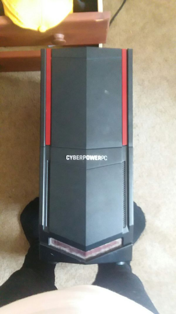 Cyber power pc gaming computer