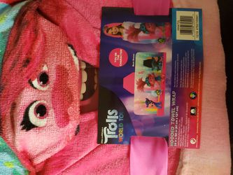 Trolls World Tour Hooded Towel Wrap for Sale in Myrtle Beach,  SC