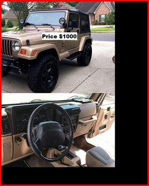 ֆ1OOO Jeep Wrangler for Sale in Garden Grove, CA