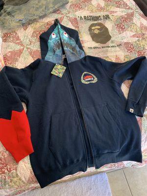 Bape x jaws shark hoodie for Sale in Tempe, AZ