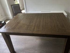 Pottery Barn Kitchen Table w/Insert for Sale in Atlanta, GA