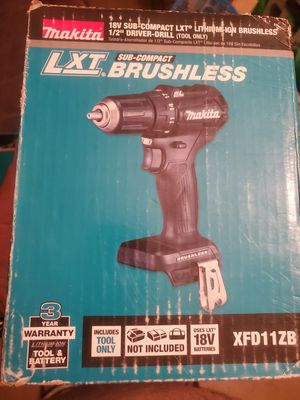 Drill makita brushless TOOL ONLY for Sale in South Gate, CA