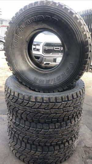 Yokohama off road tires 40/13.50R17 for $1,000 for Sale in Santa Fe Springs, CA