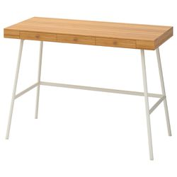 IKEA Desk, LILLASEN, Bamboo for Sale in Los Angeles,  CA