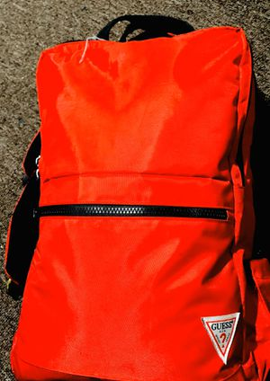 Red guess backpack with laptop carrying space for Sale in Clovis, CA