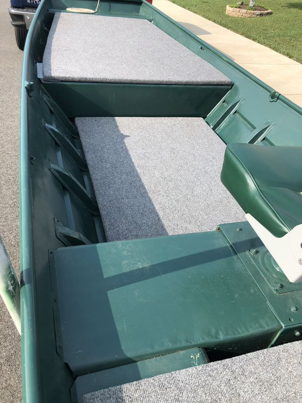 14 ft Jon Boat with trailer and more