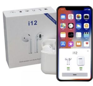 Earbud i12 TWS Bluetooth 5.0 Wirelessb touch control for Sale in Los Angeles, CA