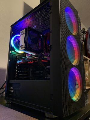 Custom Gaming PC | i5 6600k RX 580 | 16gb RAM | 240gb SSD 2TB HDD for Sale in Colma, CA