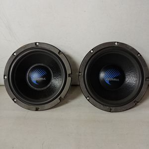 """Rare Old School Orion Cobalt 8"""" Pair Car Audio Subwoofers for Sale in Grove City, OH"""