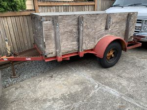 Heavy duty Utility trailer for Sale in Everett, WA