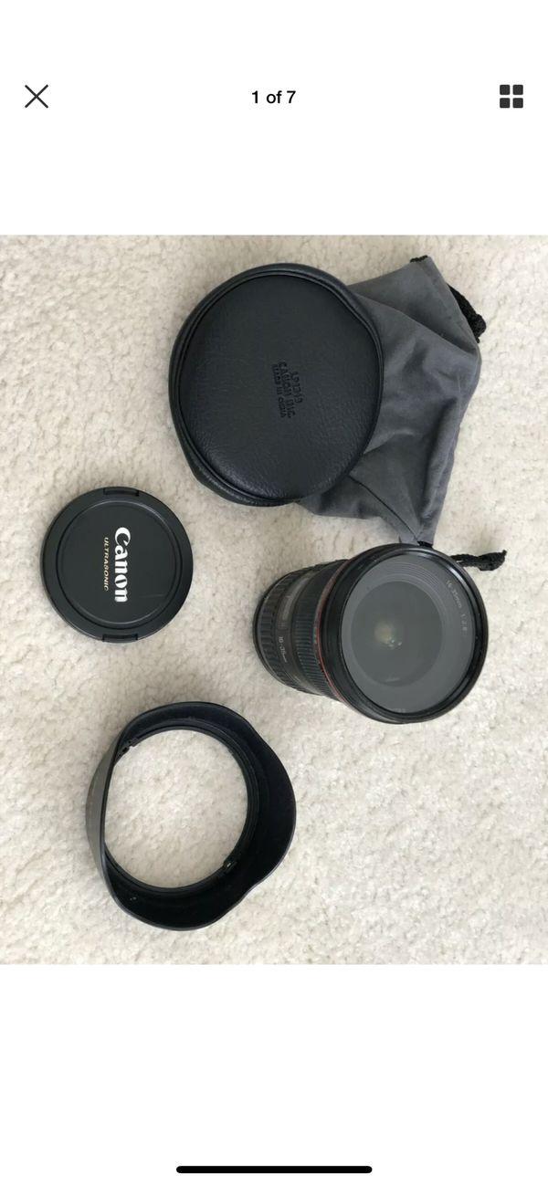 Canon Zoom Lens EF 16-35mm 2.8L II