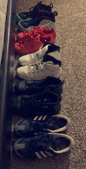 (Shoes !!) Jordan's and adidas and Nike foamposites for Sale in Fort Worth, TX