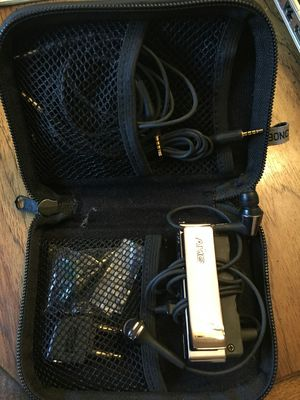 AKG Noise Canceling Earbud Headphones with In Line Remote and Microphone K390NC for Sale in Vancouver, WA