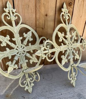2FT X 2FT Metal Wrought Iron Candelabras for Sale in Los Angeles, CA