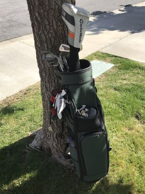 Golf clubs with extras for Sale in Wildomar, CA
