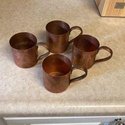 Vintage Copper Mugs for Sale in El Dorado Hills,  CA