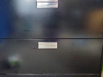 Metal 2 Drawer Locking Filing Cabinet for Sale in Beaverton,  OR