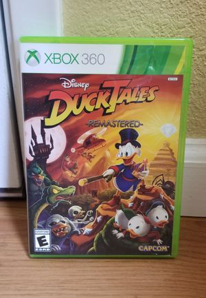 DUCK TALES REMASTERED - XBOX 360, FIRM PRICE, GOOD CONDITION, NO TRADE for Sale in Garden Grove, CA