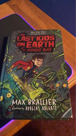 The last kids on earth and the midnight blade for Sale in McBain,  MI