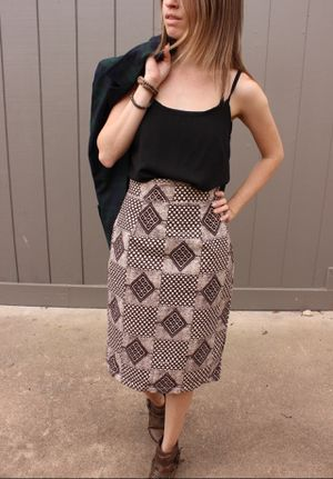 Patterned Pencil Skirt for Sale in Austin, TX
