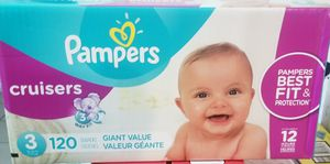 Pampers cruisers size 3 for Sale in Los Angeles, CA
