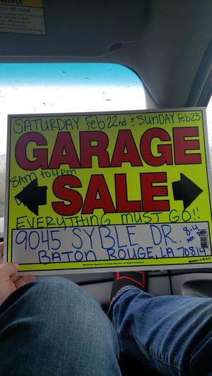 Huge sale for Sale in Baton Rouge, LA