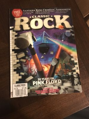 Pink Floyd 3D Classic Rock Magazine for Sale in Brunswick, OH