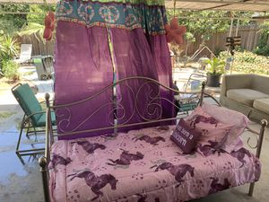 Twin bed frame and bedroom set for Sale in Fresno, CA