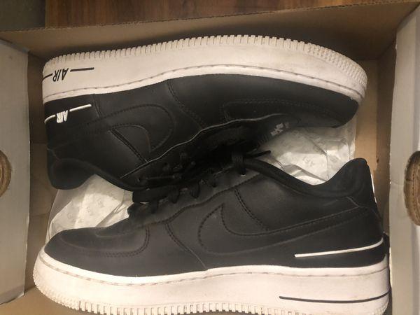 black & white air force 1