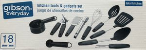 Brand New Gibson 18-pieces Kitchen Tools & Gadgets Set for Sale in El Cajon, CA