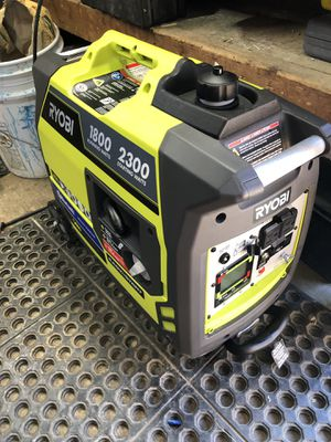 Ryobi 2500 generator with Bluetooth for Sale in Carnegie, PA