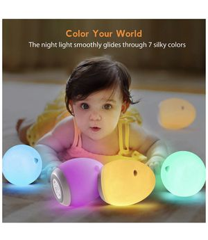 Night Light for Kids, Miroco Baby Night Light with Color Changing Mode & Dimming Function, USB Rechargeable Toy-Grade Nursery Night Lights/Lamp with for Sale in El Cajon, CA