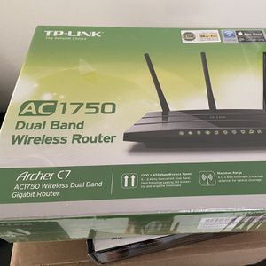 TP Link 1750 Dual Band Wireless Router for Sale in Boca Raton, FL