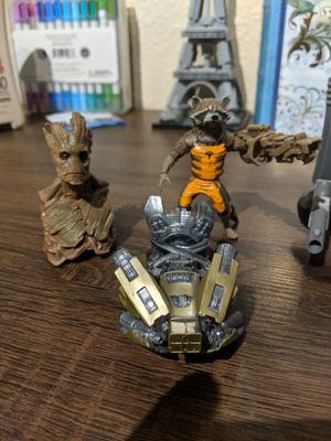 Toy Variety Pack! Ft. Rocket, Groot, Loot crate Exclusive figures, Hexbug, and more for Sale in Glendale, AZ