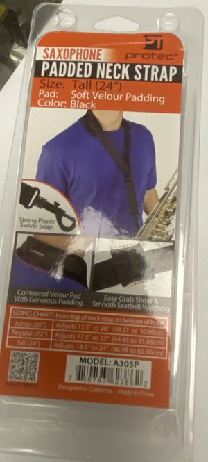 Saxophone padded neck strap for Sale in Albuquerque, NM