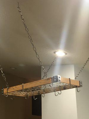 SPACE SAVER! Gorgeous...hang your pots & pans!! for Sale in Stuart, FL