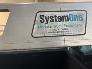 System one ladder rack with ratchet tie downs for Sale in Philadelphia, PA