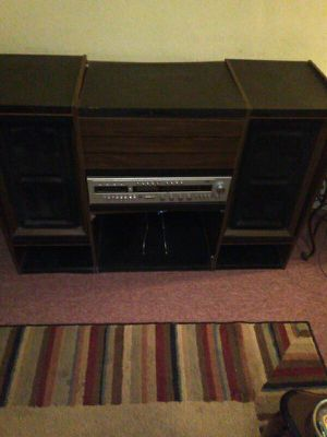 Old School Wood STEREO System for Sale in Oakland, CA