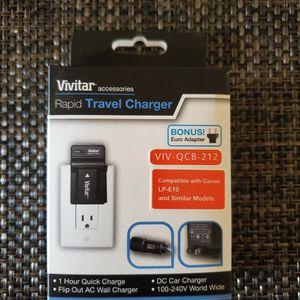 Vivitar CANON DSLR Battery Travel Charger for Sale in Irvine, CA