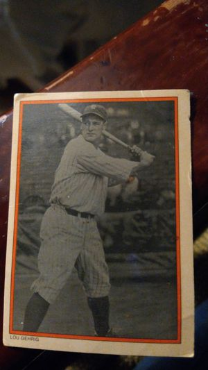Lou Gehrig Topps baseball card. for Sale in Houston, TX