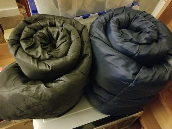 Two youth-size sleeping bags
