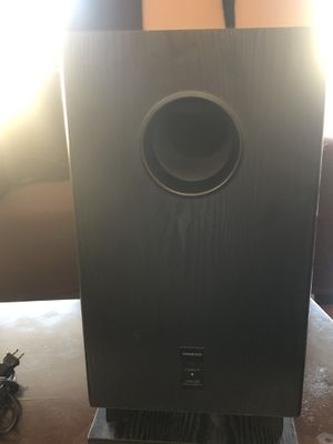 Onkyo subwoofer for Sale in Downey, CA