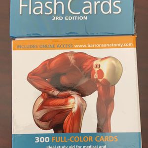 300 Anatomy Flash Cards for Sale in Norman, OK
