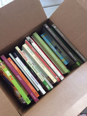 4 BOXES OF BOOKS for Sale in San Diego, CA