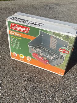 Coleman Camp Stove- Includes Refillable Tank for Sale in Snohomish,  WA