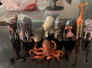 9 Farm Animal Kids Toys Figures for Sale in Davenport, FL